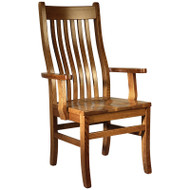 Amish Handcrafted Mission Arm Chair