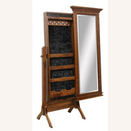 Amish Handcrafted Brooklyn Jewelry Mirror