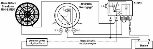 A20PABS_wiring__81411.1497464737?c=2 oil pressure gauge a20p a25p murphy a2o boating & marine supply murphy gauge wiring diagram at fashall.co