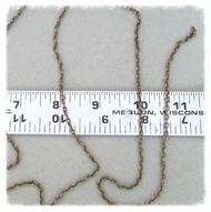 4ft BRONZE Finish Chain 3mm Oval ~ Rosary Parts