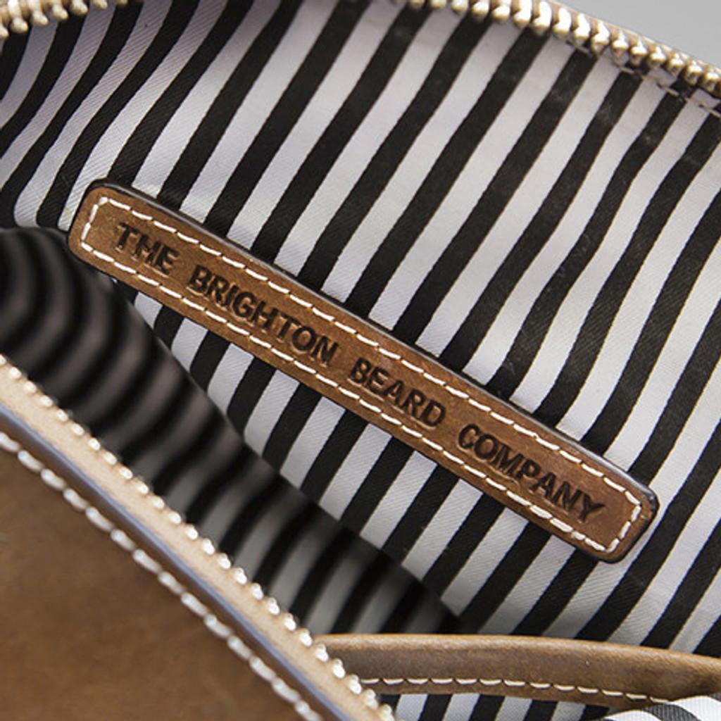 Hadleigh's Leather Wash Bag