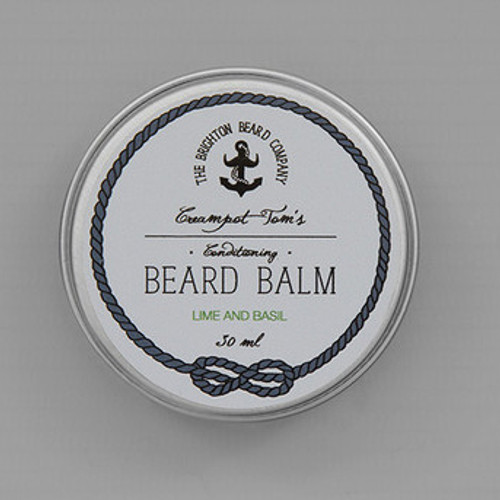 Creampot Tom's Lime & Basil Beard Balm