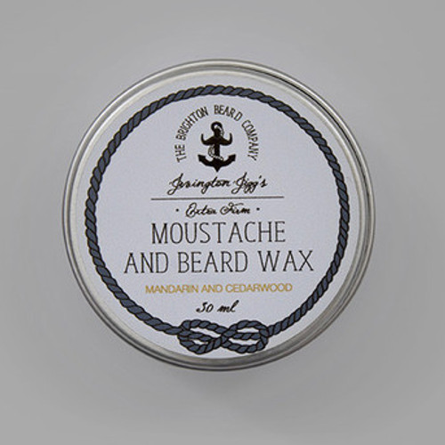 Jevington Jigg's Mandarin & Cedarwood Extra Firm Moustache Wax