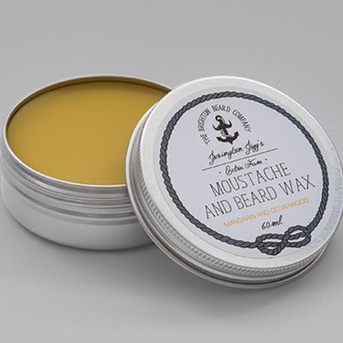 Jevington Jigg's Mandarin & Cedarwood Extra Firm Moustache Wax