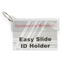 Easy Slide ID holder with Keyring