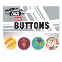 "Set of 4- 1"" Buttons"