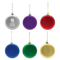 Flat Shatterproof Ornament
