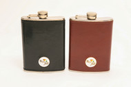 Bay Hill Leather Flask