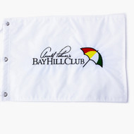 Arnold Palmer's Bay Hill Club White Pin Flag
