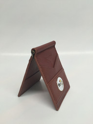 Leather Wallet with Money Clamp