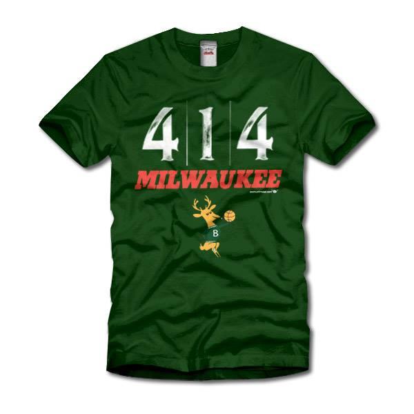 Milwaukee Bucks 414 Milwaukee Originals