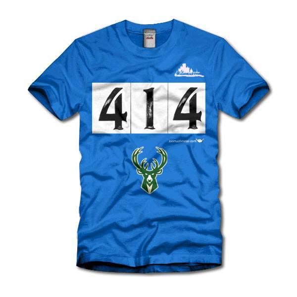 Milwaukee Bucks 414 Second design