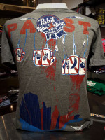 Pabst PBR Grey T-Shirt