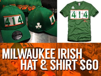 414 Milwaukee Irish Hat