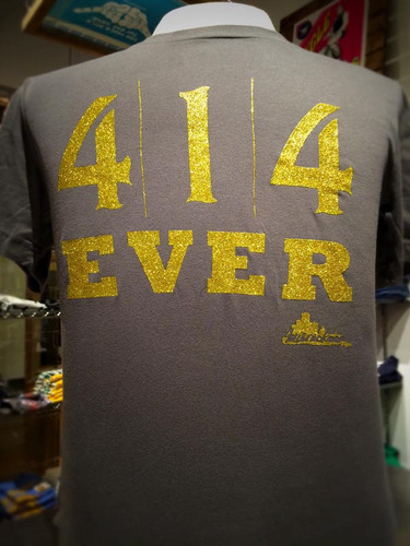 414 Ever Mens shirt from Too Much Metal