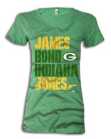 Super-stealth, action hero, wide reciever - James Jones - has a license to score touchdowns for Green Bay. In honor of his triumphant return to the Pack, we offer you this radness.
