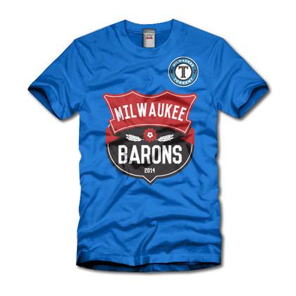 Milwaukee Barons and Milwaukee Torrent t-shirt