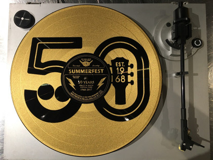 Summerfest 50th Gold Recod