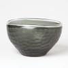 Chiseled Glass Folded Bowl