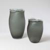 Chiseled Glass Vase