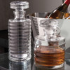 Ribbed Decanter