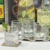 Honeycomb Double Old Fashion Glasses