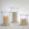 Honeycomb Hurricane Candle Holder