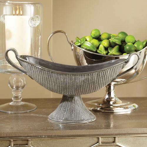 Ceramic Woven Compote