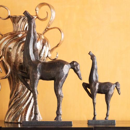 Cubist Horse Sculpture