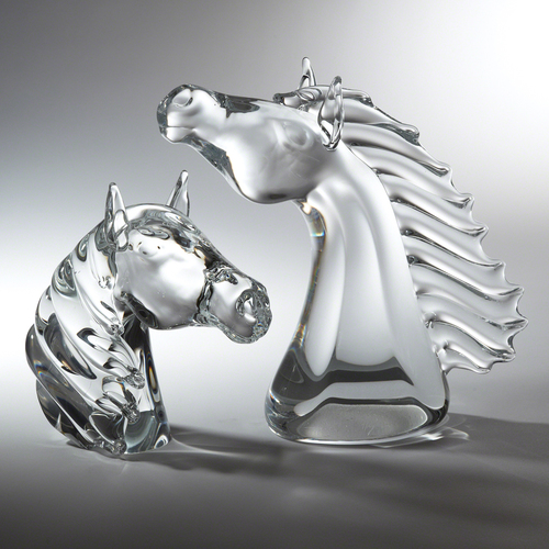 Thoroughbred Horse Head