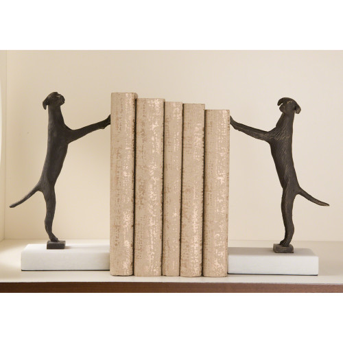 Golden Retriever Bookends