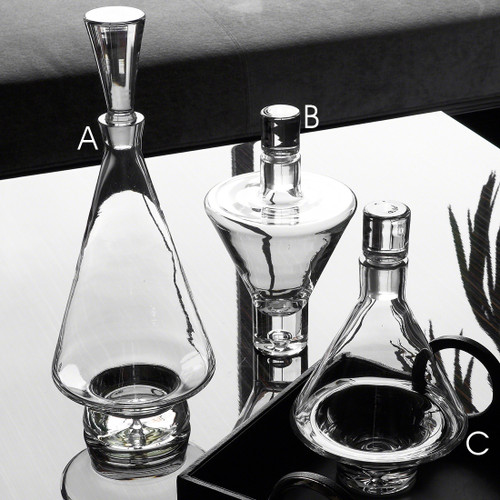 Topsy Turvy Decanters