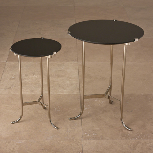 Plie Table Nickel Granite