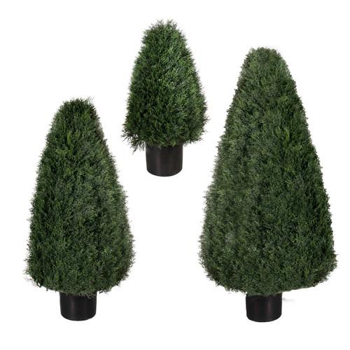 """Pond Cypress UV Tree 42"""" cone"""
