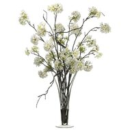 Cherry Blossom in Glass Vase 34""