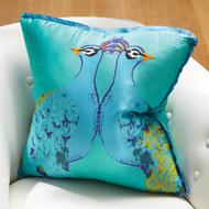"""Peacock Pillow 20"""""""