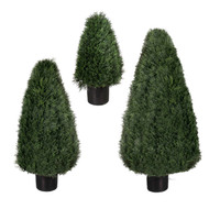 "Pond Cypress UV Tree 42"" cone"