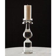 Classic Bulb Crystal Candle Holder