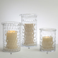 Honeycomb Hurricane Candle Holder