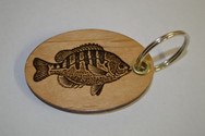 Bluegill Key Ring