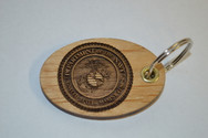 3D Marine Corps Key Ring