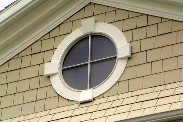 Circle Window Flat Trim