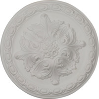 "11 3/8""OD x 2""P Acanthus Ceiling Medallion"