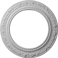 "12""OD x 8""ID x 1/2""P Andrea Ceiling Medallion"