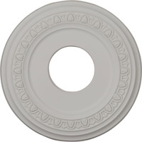 "12 1/4""OD x 4""ID x 1 1/8""P Jackson Ceiling Medallion (Fits Canopies up to 5"")"