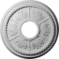 """13 7/8""""OD x 3 3/4""""ID x 1 1/4""""P Tirana Ceiling Medallion"""