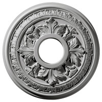 "15 3/8""OD x 4 1/4""ID x 1 1/2""P Baltimore Ceiling Medallion"