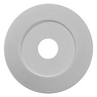 "16 1/8""OD x 3 5/8""ID x 1""P Adonis Ceiling Medallion (Fits Canopies up to 10 1/4"")"