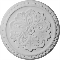 "16 7/8""OD x 5/8""P Emeryville Ceiling Medallion"