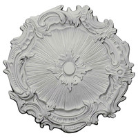 "16 3/4""OD x 1/2""ID x 1 3/8""P Plymouth Ceiling Medallion"